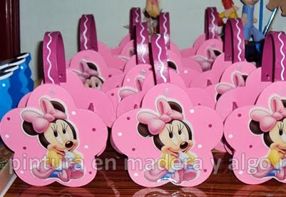SOPRESAS CARTERITAS MINNIE MOUSE