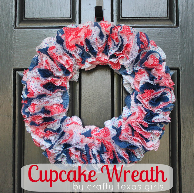 diy wreath {the 4th of July}