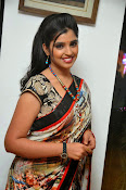 Syamala glamorous photos in saree-thumbnail-18
