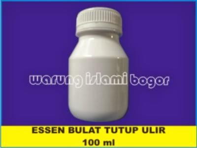 Jual Botol Plastik PET Essen Bulat 60 Kapsul White