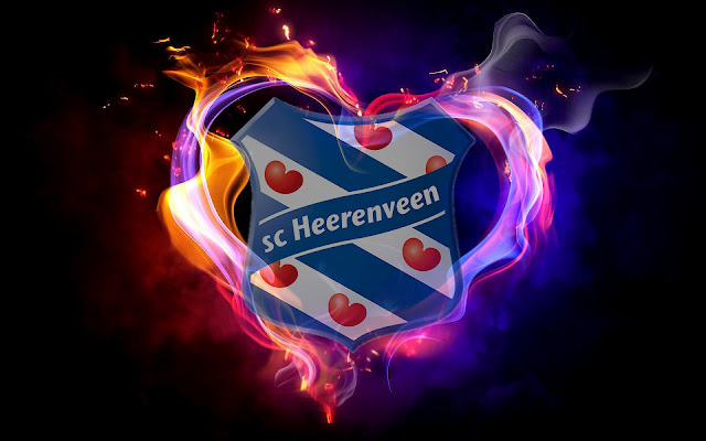 SC Heerenveen achtergrond met logo