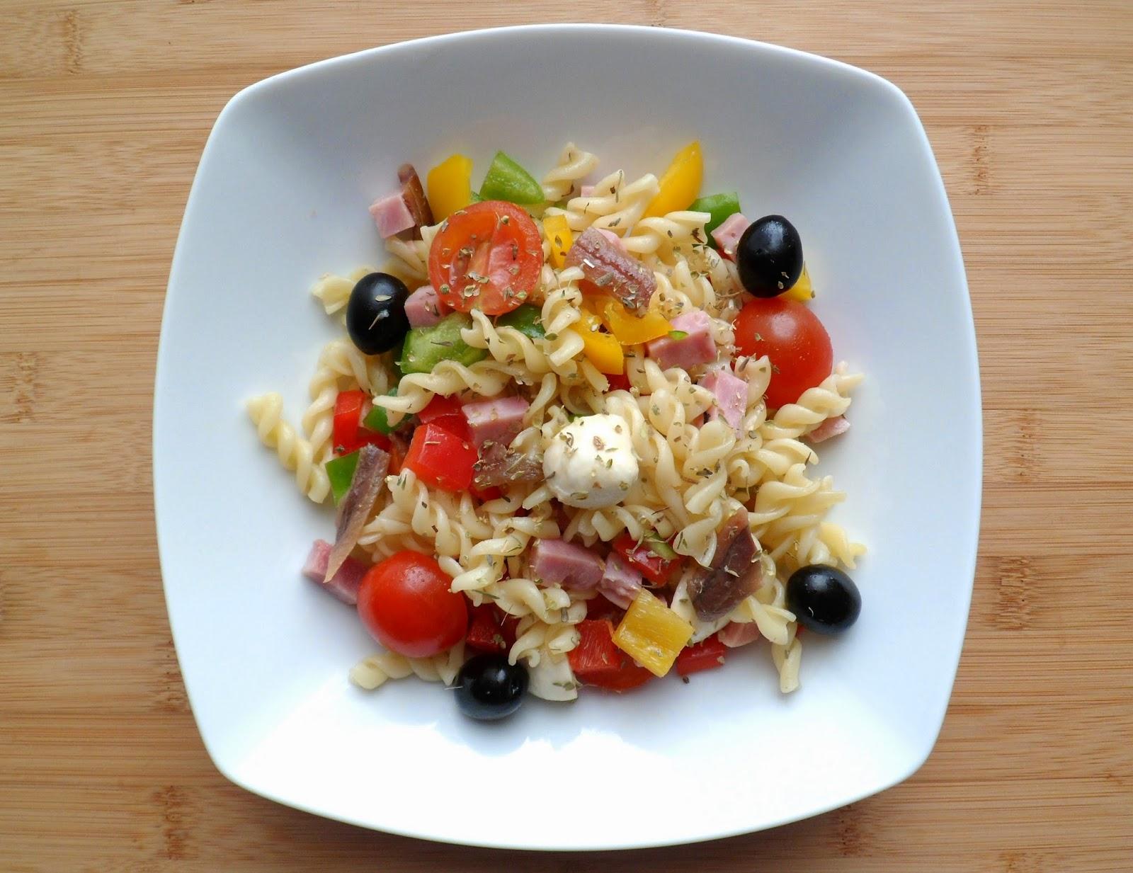 Les crocs du loupinet salade de p tes ma s figues for Cuisine 0 crocs