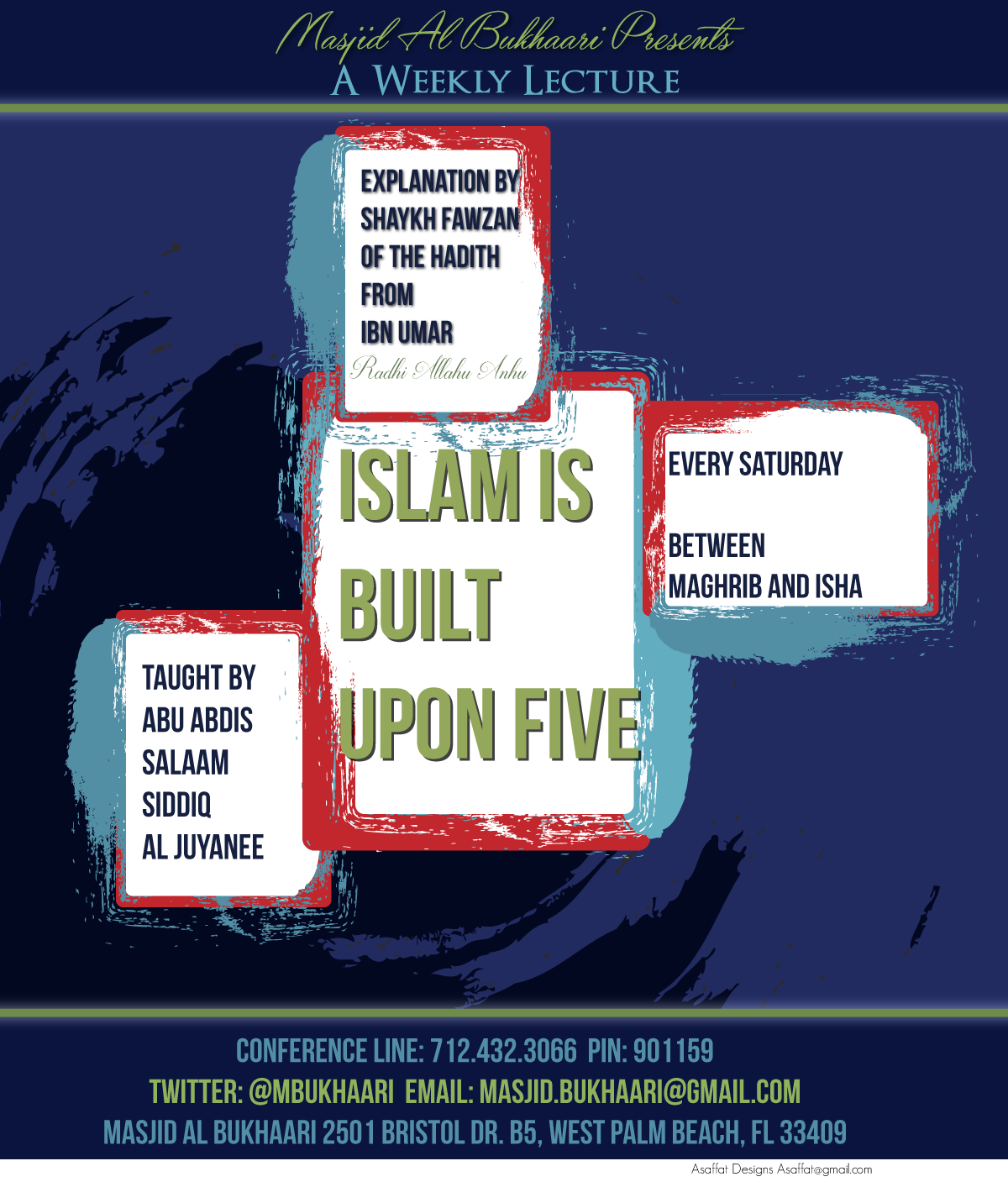 Islam is Built Upon Five