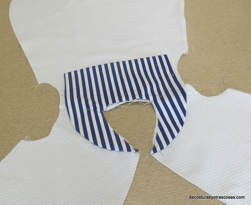 coser cuello marinero