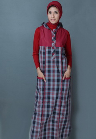 Gambar Model Baju Gamis 277
