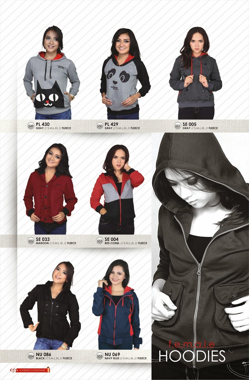 jaket wanita catenzo 2015-2016