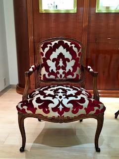 椅子の張り替え 生地<オズボーン&リトル> F5950-07