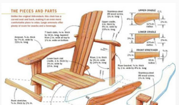 """Don't Buy It, BUILD IT! click the chair for """"Ted's Wood Working"""""""