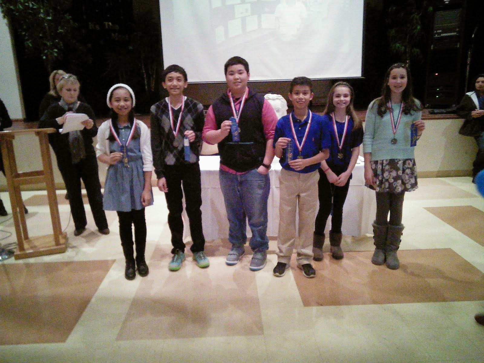 """7th Grade Science Fair Winners"""