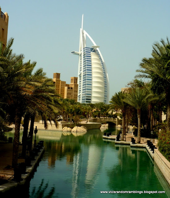 Vivi 39 s random ramblings souk madinat jumeirah the hidden for Dubai 7 star hotel name