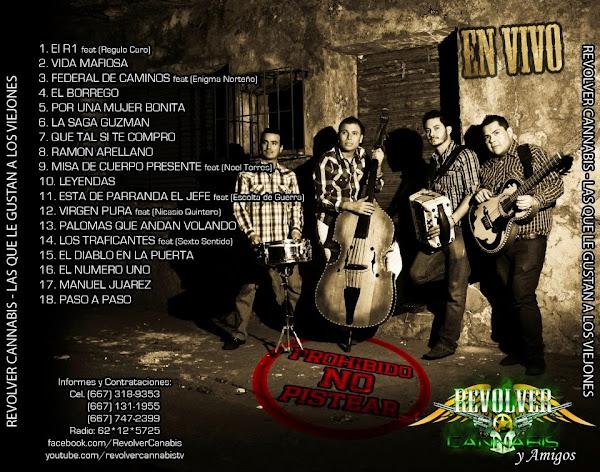 DESCARGAR DISCO Revolver Cannabis - Las Que Les Gustan A Los Viejones CD Album 2012