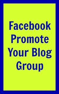 Facebook Promote Your Blog Group