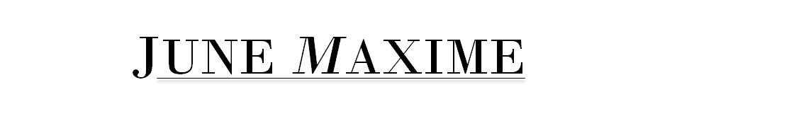 June Maxime