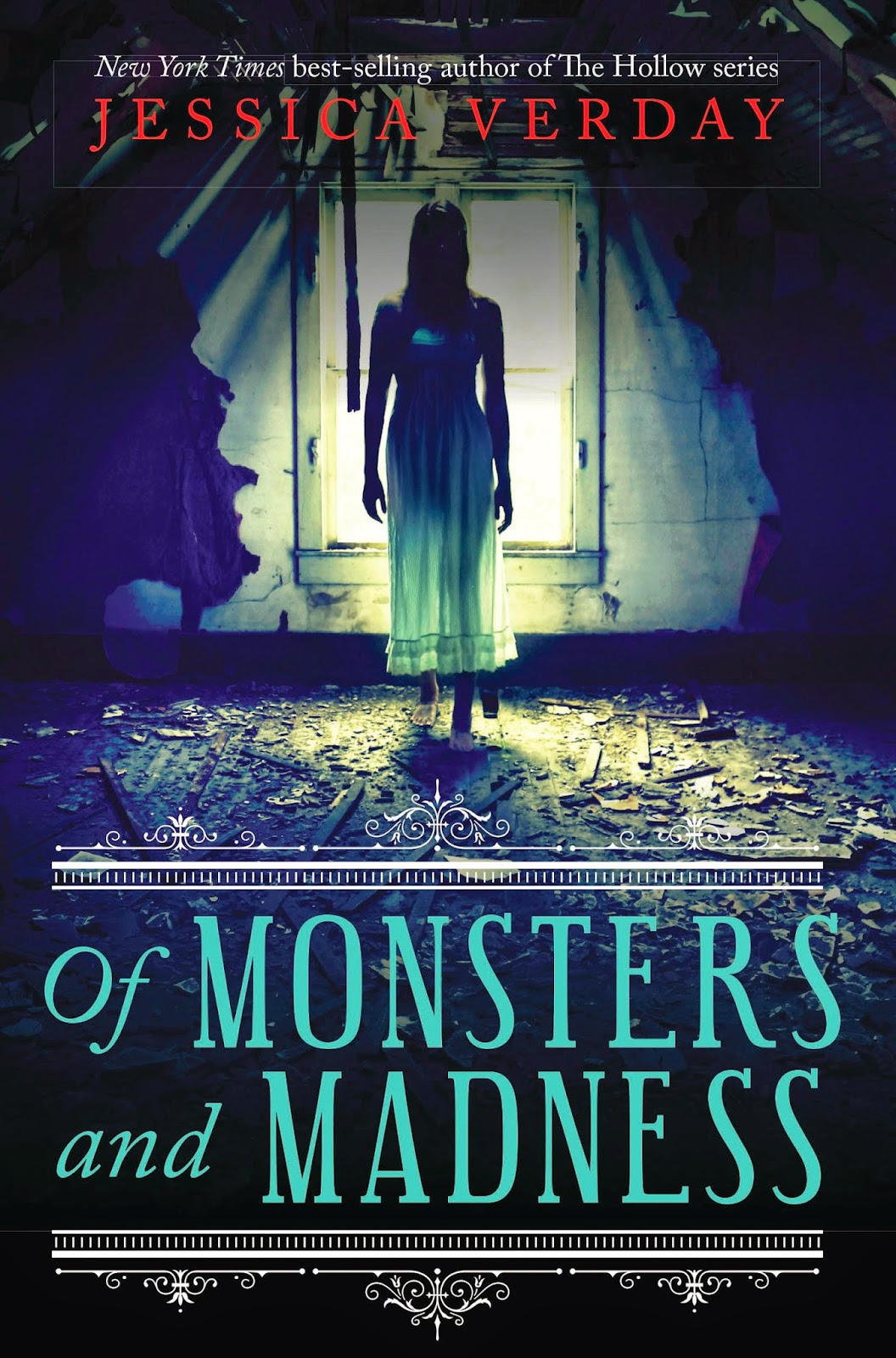 of monsters and madness by jessica verday book cover