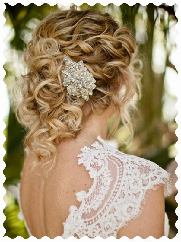 peinados 2015 para novias accesorios