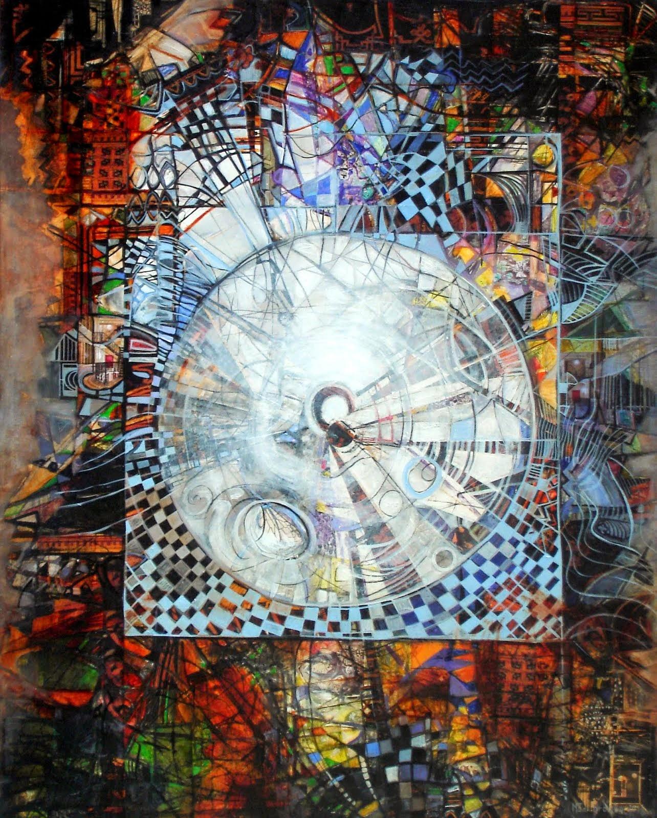 Le temps - 92 x 73 cm - 2014