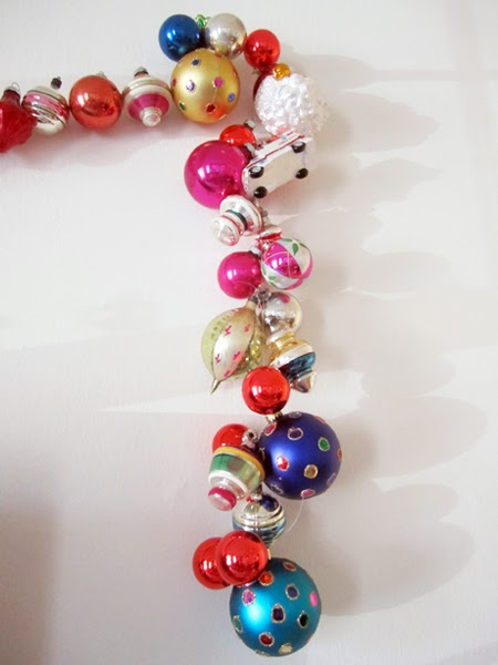 Very fond of christmas ornament garland