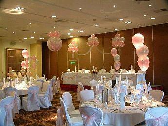 Decoraci n de bodas con globos for Decoraciones internas