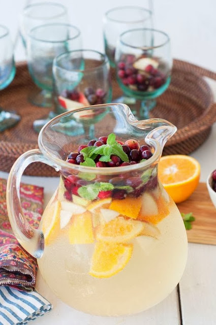 Summer Christmas punch