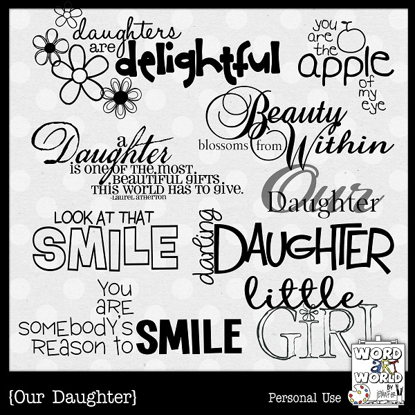 Daughter Quotes For Scrapbooking 3 Quote