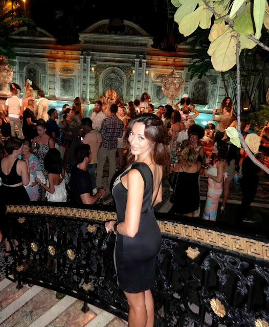 Versace mansion, Casa Casuarina, Swim Week, Mara Hoffman