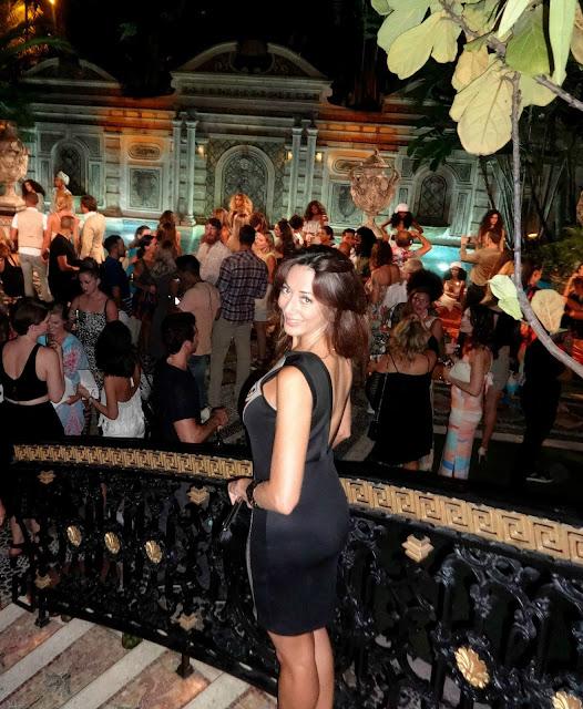 Versace mansion, Casa Casuarina, Swim Week, Mara Hoffman