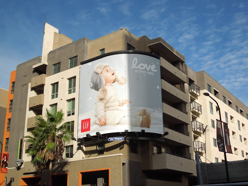 Baby Gap Love first sight billboard
