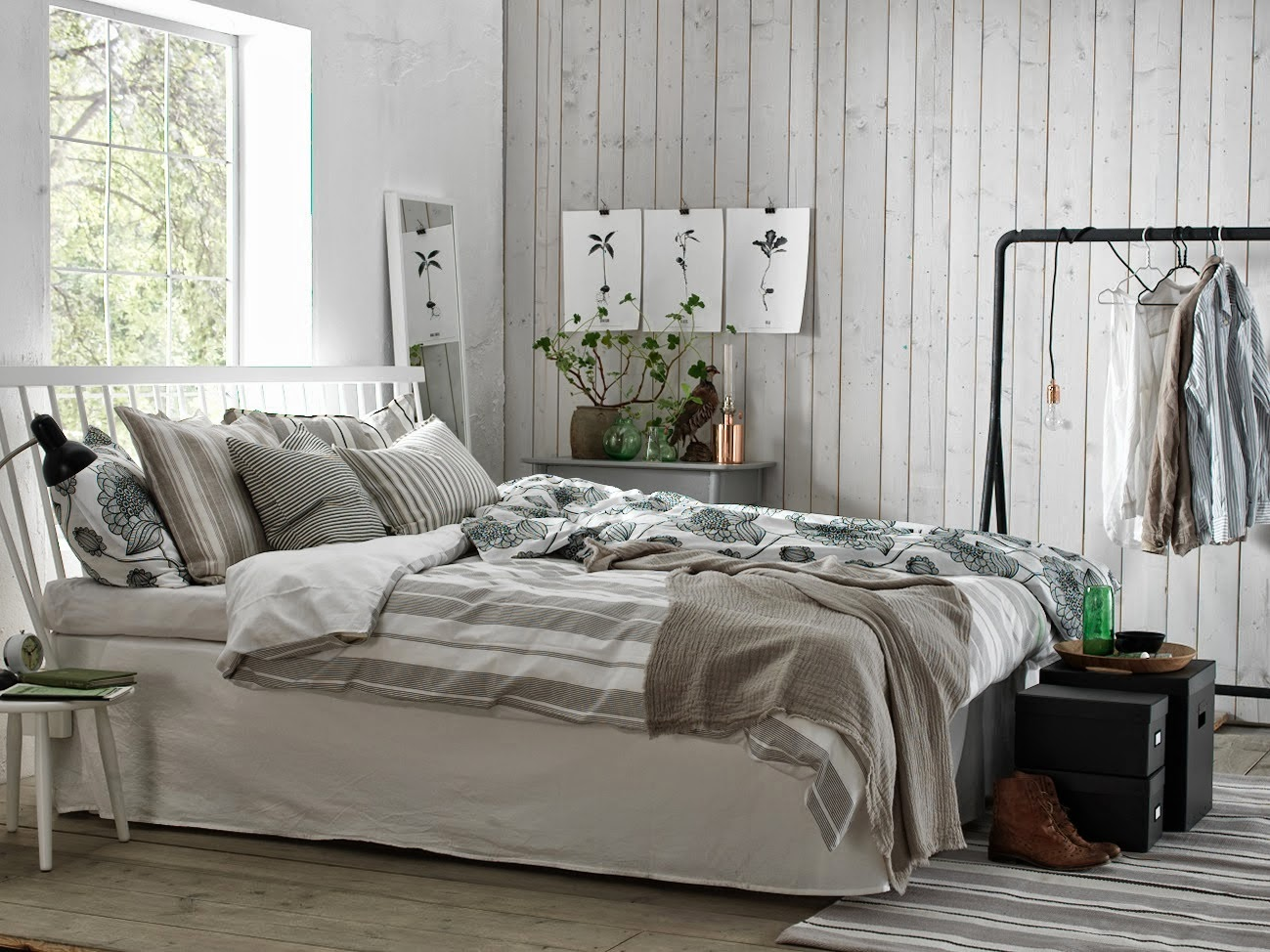 Mitt gröna lilla rum: inred ditt sovrum svalt