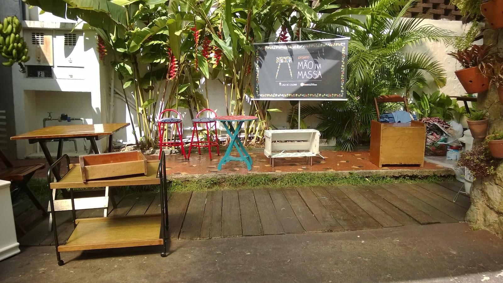 móveis das turmas da oficina Mão na Massa - blog Casa de Colorir