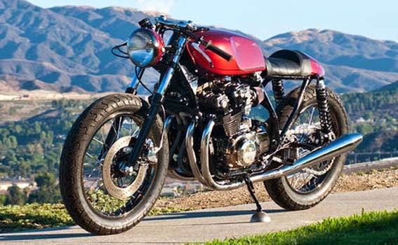 Modifikasi Honda CB750 Cafe Racer