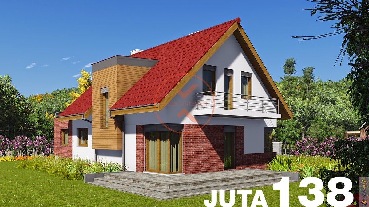 Projekt rodinného domu JUTA 138