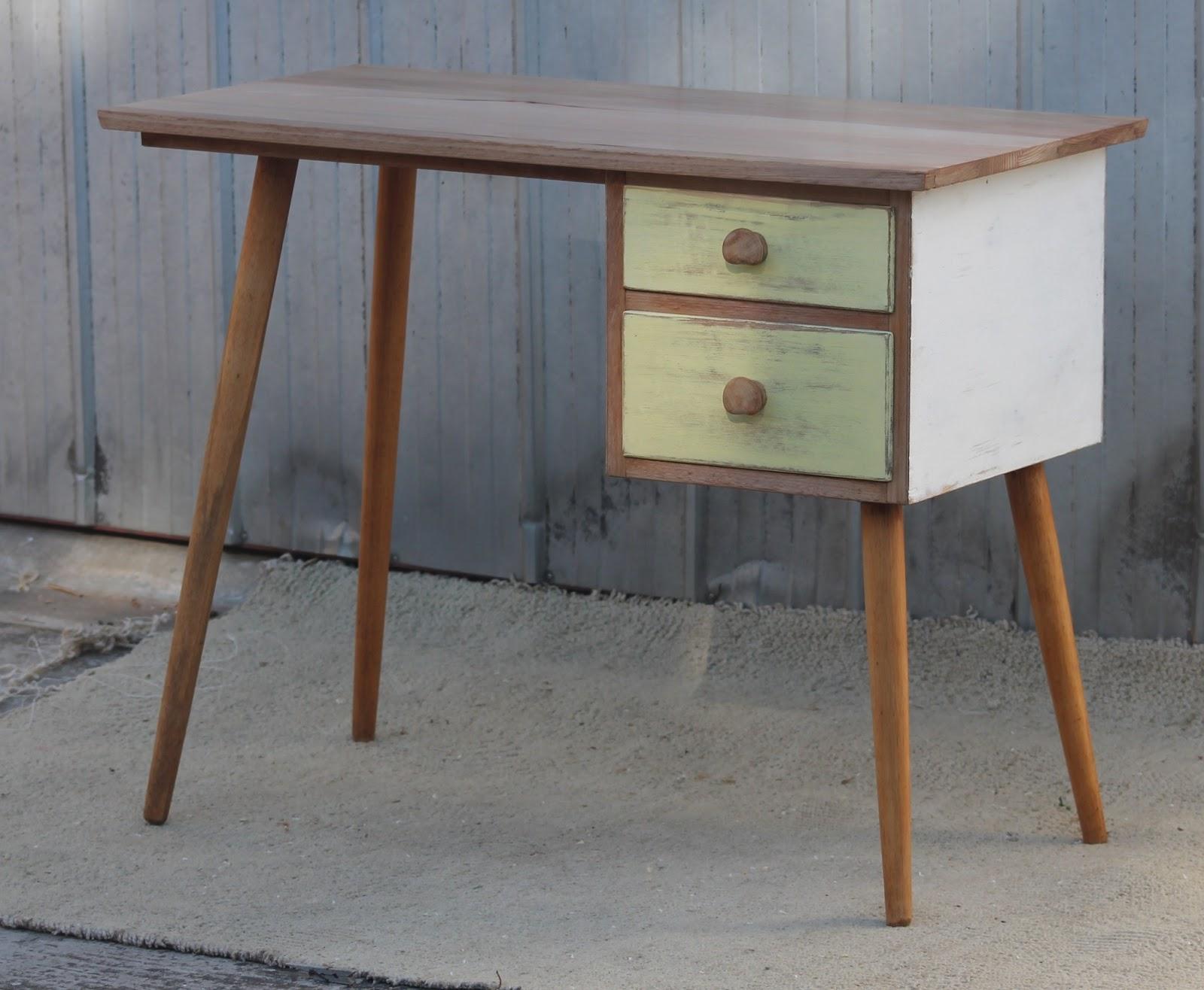 renovated sixties retro desk sold