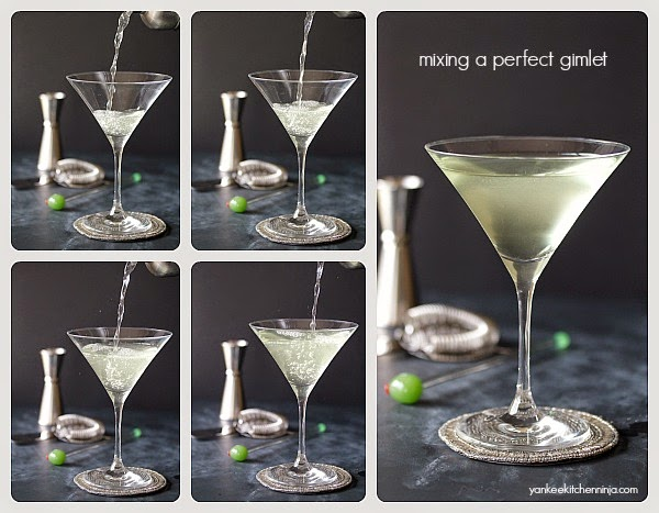 how to mix a perfect gimlet