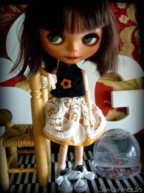 Basaak doll at work