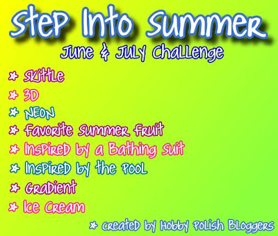 Step Into Summer Challenge - Hobby Polish Bloggers