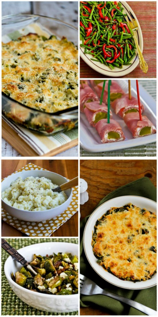 25+ Deliciously Healthy Low-Carb and Gluten-Free Holiday Side Dishes, Appetizers, and Salads
