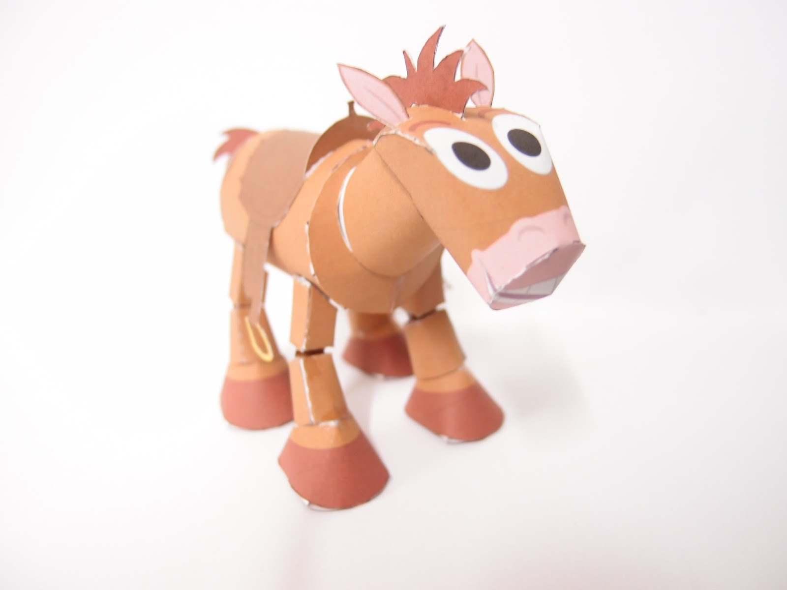 Bullseye Paper Toy