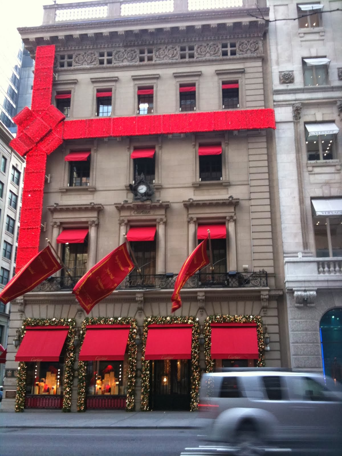 Cartier at Christmas