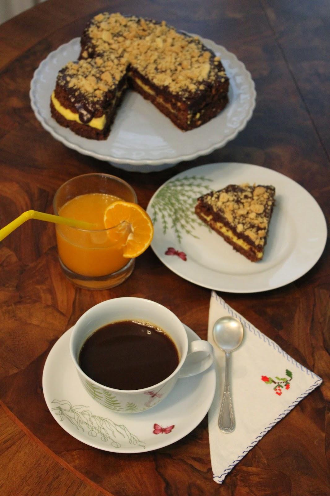 Domingos en la cocina tarta de chocolate y crema - Bizcocho microondas 3 minutos ...
