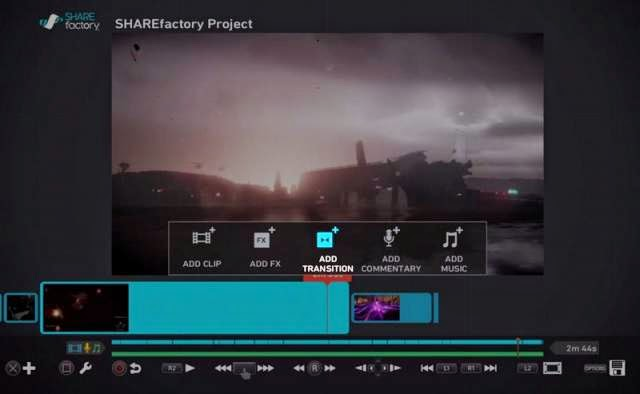 PS4: a video editing tool integrated to capture your exploits