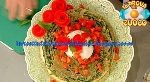 Tarte tatin con fagiolini pomodori e mozzarella ricetta La Prova del Cuoco