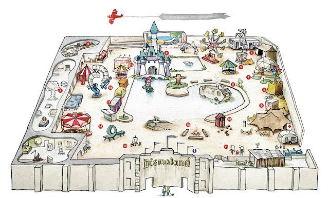 Conheça Dismaland, o parque de diversões dos desastres