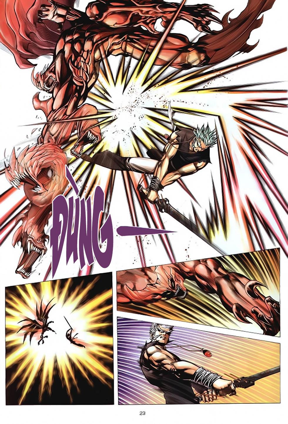 Chiến Thần Ký chap 39 - Trang 24