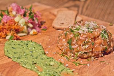 La popoteuse tartare de saumon l 39 asiatique for Apprendre la cuisine asiatique