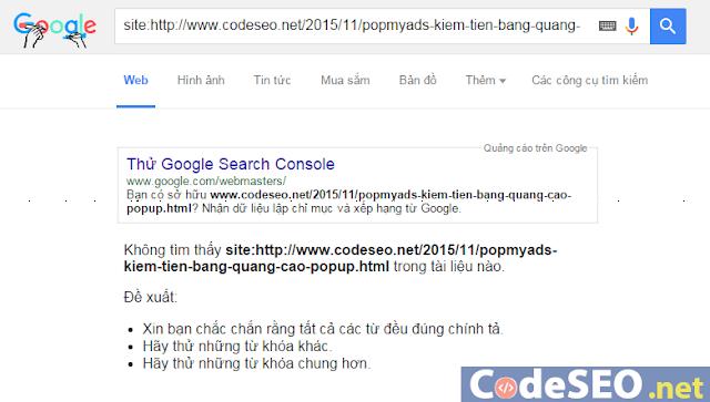 Công cụ SEO giúp Google index site - bài viết nhanh nhất chỉ trong 1 phút