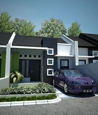 Model Rumah mungil minimalis