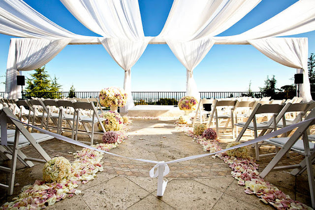 Beverly Hills private estate wedding