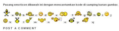 emoticon pada komentar blogspot