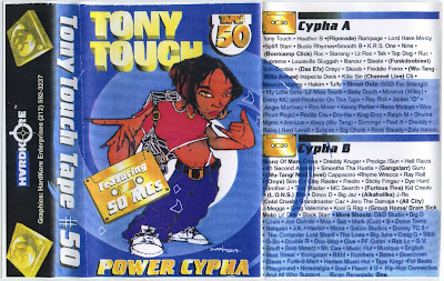 Tony Touch ‎– #50 – Power Cypha: Featuring 50 MCs (Cassette) (1996) (320 kbps)