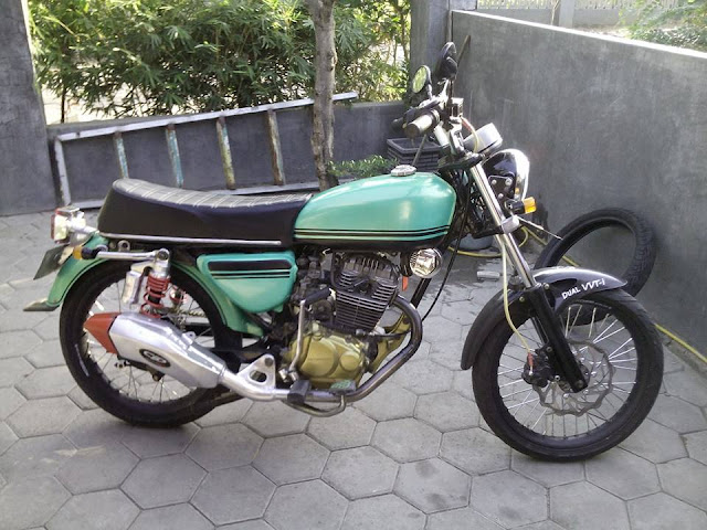 Foto Modifikasi Honda MP Body CB Keren